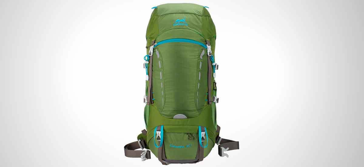 mochila de senderismo impermeable