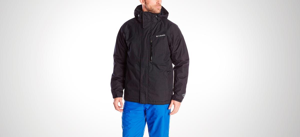 Poli/éster Hombre Columbia 1840741 Westbrook Jacket Chaqueta impermeable