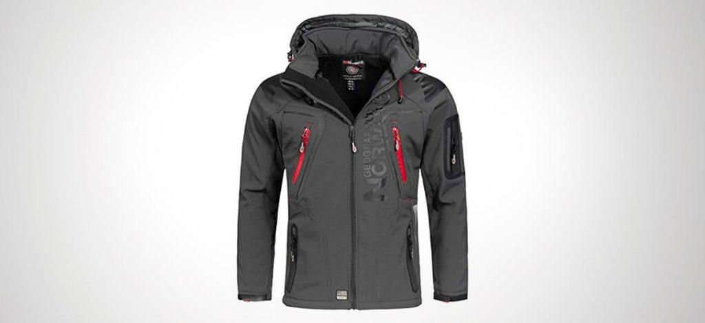 abrigo de trekking hombre
