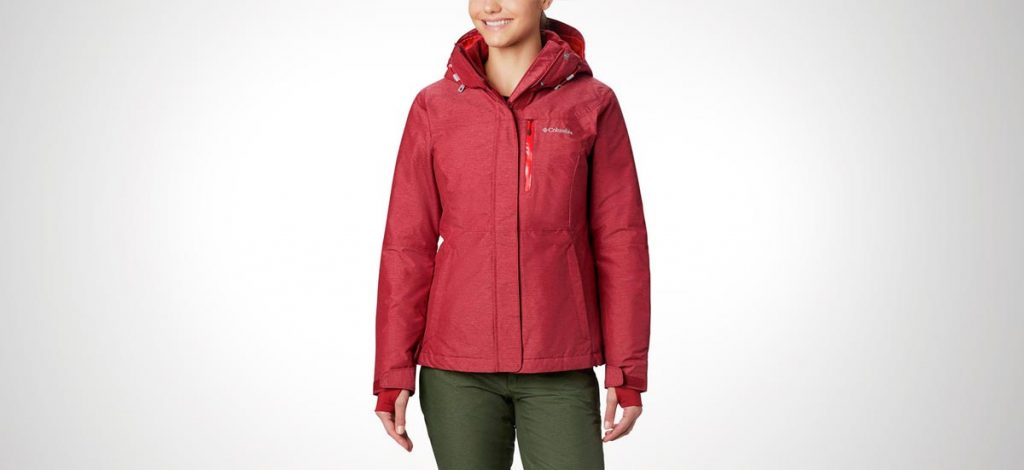 chaqueta de trekking para mujer