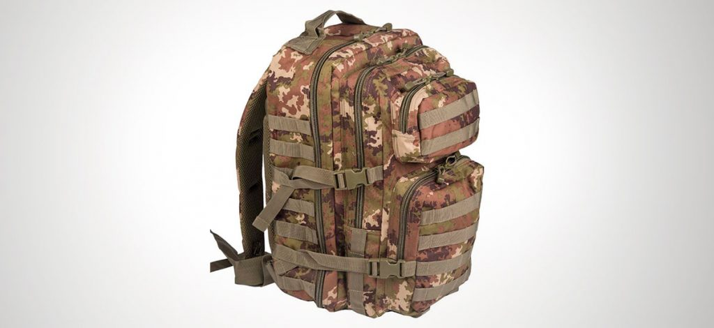 "<strong><a href=""https://amzn.to/2x5SygT"">Mochila táctica Mil Tec EE.UU. Mochilla Assault </a></strong>"