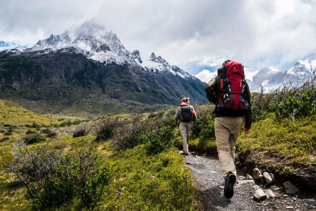equipamiento de trekking